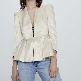 New fashion decorative casual blazer wholesale NHAM207667's discount tags