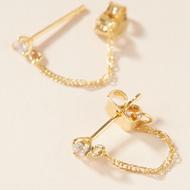 Fashion alloy diamond stud earrings wholesale YIWU Nihaojewelry NHMD207736