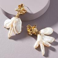 Fashion alloy pearl earrings wholesale YIWU Nihaojewelry NHMD207732
