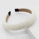 New fashion simple string pearl cheap headband wholesale NHWJ207375