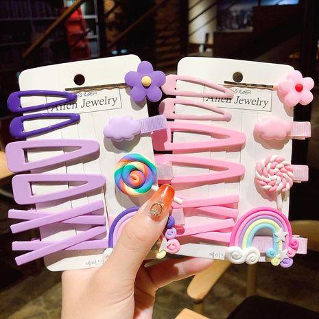Korean girl cute sweet cheap hairpin wholesale NHNA207436's discount tags