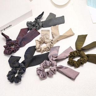 Fashion bowknot cloth ring streamer head rope plate hair headdress wholesale NHDM207752's discount tags