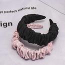 South Korea39s new fashion fold cute soft fabric cheap headband wholesale NHDM207754