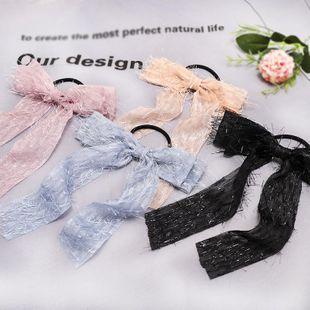 New fashion sweet bow ribbon streamer scrunchies wholesale NHDM207778's discount tags
