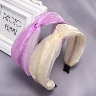 New fashion solid color wild cheap headband wholesale NHDM207782's discount tags