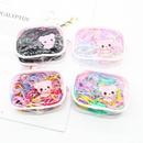 Korean disposable hair ring cartoon children39s colorful rubber band rubber band head rope headdress hair accessories NHDM207791