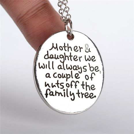 New fashion popular mother daughter family series necklace wholesale NHMO207866's discount tags