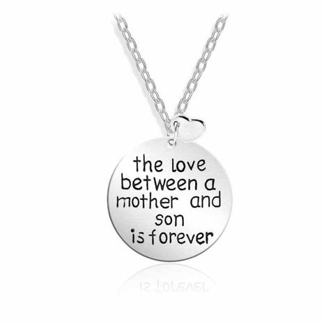 The new fashion The love between amother and son love necklace wholesale NHMO207877's discount tags