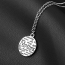 New fashion mother holiday gift mother round letter necklace female clavicle chain wholesale NHMO207910