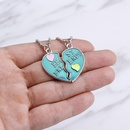 Bestselling fashion Best Friends love good friends stitching lettering necklace accessories NHMO207976