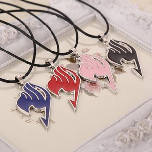 Fashion Jewel Fairy Tail Guild Logo Necklace Clavicle Chain Necklace Wholesale NHMO208012's discount tags
