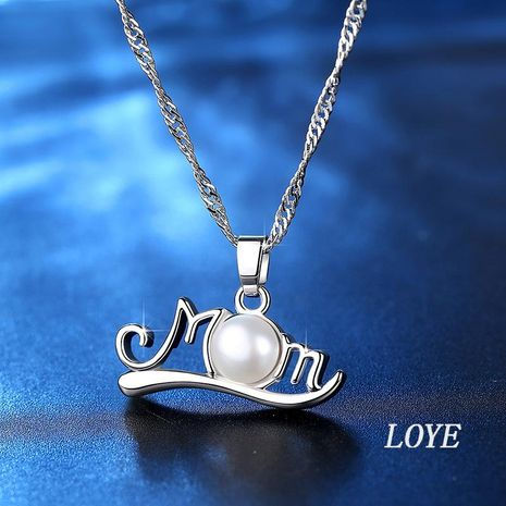 Mothers day necklace wholesale fashion pearl necklace yiwu nihaojewelry wholesale NHKN208031's discount tags