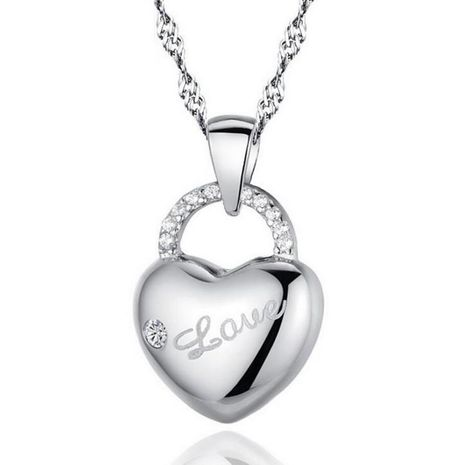 New fashion sweet Love necklace wholesale NHKN208040's discount tags