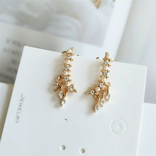 fashion pearl earrings  new personality exaggerated earrings temperament earrings nihaojewelry wholesale NHVA215038's discount tags