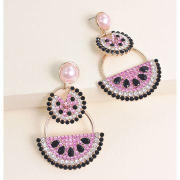 new fashion  earrings watermelon pomelo fruit earrings  nihaojewelry wholesale NHJJ215091