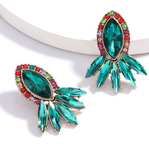 new fashion  exaggerated  geometric retro earrings female  super  earrings  nihaojewelry wholesale NHJE215116