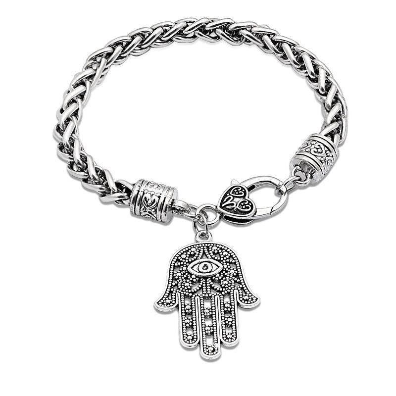 new fashion Wild Punk Slap Pendant Bracelet  Hand Jewelry nihaojewelry wholesale NHMO215190
