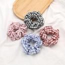 Coren blanc cheveux colors chouchous nihaojewelry gros plaid tissu cheveux anneau tendance campus vent cravate cheveux gros intestin anneau cheveux corde NHJE215267