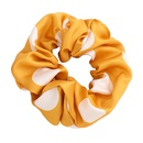 fashion colorful hair scrunchies nihaojewelry wholesale  big dot fabric cloth Korean hair circle large intestine circle hair rope hair accessories NHJE215269