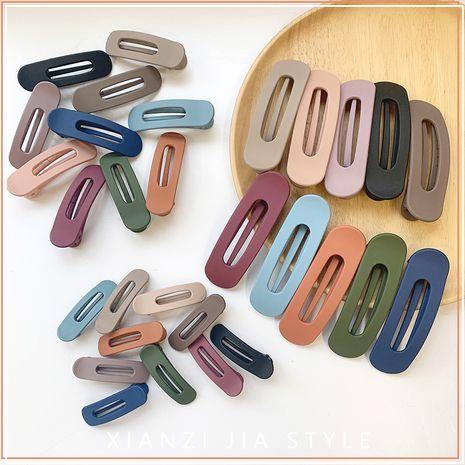 fashion women's hair clips nihaojewelry wholesale  word clip head back hair clip top clip bangs headdress NHOF215333's discount tags