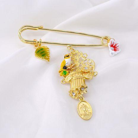 Nuevo broche accesorios de moda pin decoración creativo pájaro ropa fija cardigan suéter bufandas hebilla collar pin NHNT215389's discount tags