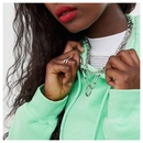 fashion popular simple multilayer necklace jewelry chain necklace nihaojewelry wholesale NHCT215398