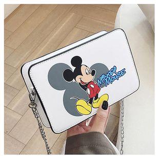 new Mickey small square bag printed mobile phone bag messenger bag fashion trend shoulder bag change small bag NHGA215736's discount tags