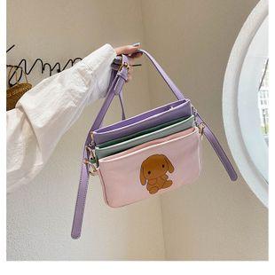 Fashion women's bag wholesale summer new triplet shoulder bag cartoon printed soft face crossbody bag mobile coin purse NHGA215739's discount tags