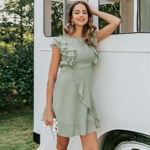 verano moda nuevo vestido verde dulce para mujer nihaojewelry al por mayor NHDE215954's discount tags