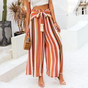 hot-sale fashion nuevos pantalones sueltos de leopardo o rayas para mujeres nihaojewelry al por mayor NHDE215963's discount tags