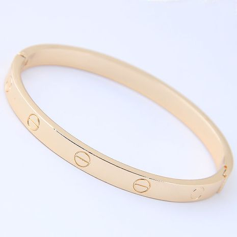 fashion new simple metal simple female bracelet nihaojewelry wholesale NHSC216232's discount tags