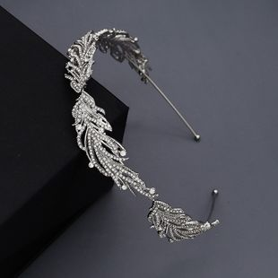New fashion  hot selling wedding jewelry   alloy diamond headband  pressure hair accessories bride and makeup headdress NHHS216048's discount tags