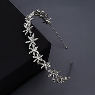 korean fashion simple  wedding jewelry alloy stars rhinestone simple  hair accessories nihaojewely wholesale NHHS216055's discount tags