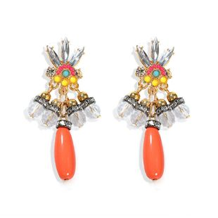 retro ethnic style bohemian style street shot  paragraph handmade earrings  hot-selling wholesale NHJQ216073's discount tags