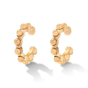 Metal texture simple  ear bone clip without pierced ears cold wind ear hook   earrings wholesale NHJQ216080's discount tags