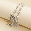 Mode corenne rtro collier de collier de papillon de perle pour les femmes nihaojewelrywholesale NHJJ216096