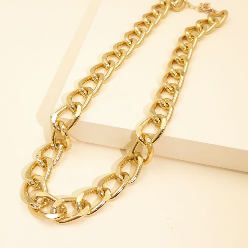 hot-sale  jewelry  new fashion simple personality exaggerated chain item  hip-hop necklace  nihaojewelry wholesale NHJJ216107