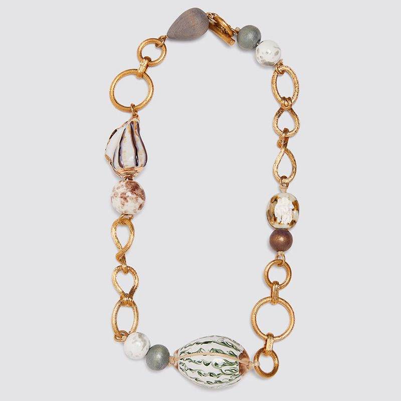 fashion Natural Conch Shell Geometric Exaggeration Necklace women Creative Personality Necklace Jewelry NHLA216206