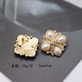 NHOM667131-Style-One-Pearl-Silver-Stud-Earrings