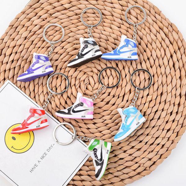 fashion new simple  hot sale AJ keychain custom joint Jordan 3D three-dimensional sneaker model pendant wholesale NHCB216417