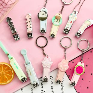 fashion new  Creative Cartoon Nail Clipper Cute Portable Folding Nail Clipper Student Home Daily Manicure Nail Clipper nihaojewelry wholesale NHHE216466's discount tags
