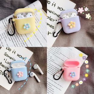 korean fashion new three-dimensional small flower Airpods pro3 generation wireless Bluetooth headset protective cover for Airpods case wholesale NHFI216524's discount tags