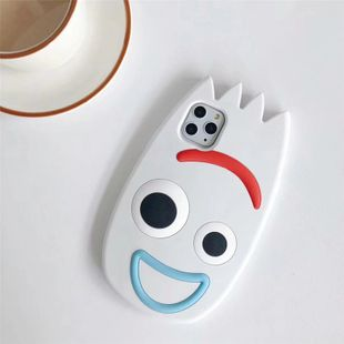 Cartoon fork odd fork fork Apple 11 Pro mobile phone shell suitable for iphonexs max silicone all-inclusive protection cute  phone case nihaojewelry wholesale NHFI216537's discount tags