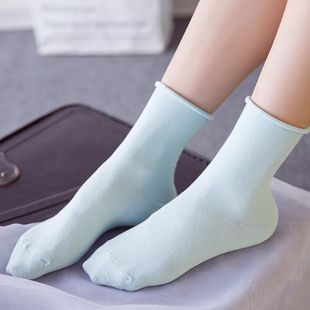 color pile socks super comfortable women's socks cotton quality wild fashion socks pregnant women loose mouth confinement socks NHFN216572's discount tags