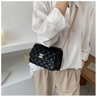 Verano nuevo bolso de mujer moda rombo bordado cadena de hilo bolsa Xiaoxiangfeng señoras hombro bolsa de mensajero nihaojewelry al por mayor NHGA216815's discount tags