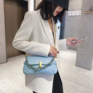 Simple  Korea small bag  summer new shoulder messenger  casual bag  retro bag nihaojewelry wholesale NHGA216822's discount tags