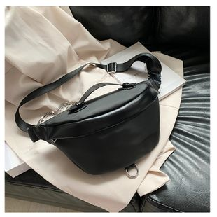 summer new waist bag simple  Oxford cloth chest bag  multi-purpose shoulder messenger bag nihaojewelry wholesale NHGA216848's discount tags