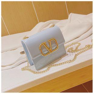 Bolsa de gelatina de verano nueva bolsa de silicona de moda bolsa cuadrada pequeña bolsa de mensajero de hombro bolsa de cadena bolsa de color caramelo nihaojewelry al por mayor NHGA216856's discount tags