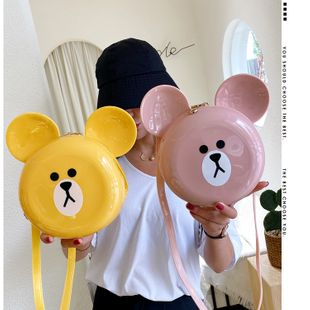 Korean new Cute cute silicone small bag  tide  shoulder messenger girl mobile phone coin purse nihaojewelry wholesale NHGA216858's discount tags