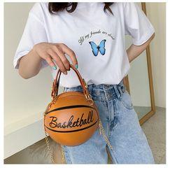 Bolso de baloncesto creativo verano nuevo bolso femenino esférico línea de tendencia bolso de mensajero de hombro de moda bolso de bola nihaojewelry al por mayor NHGA216861
